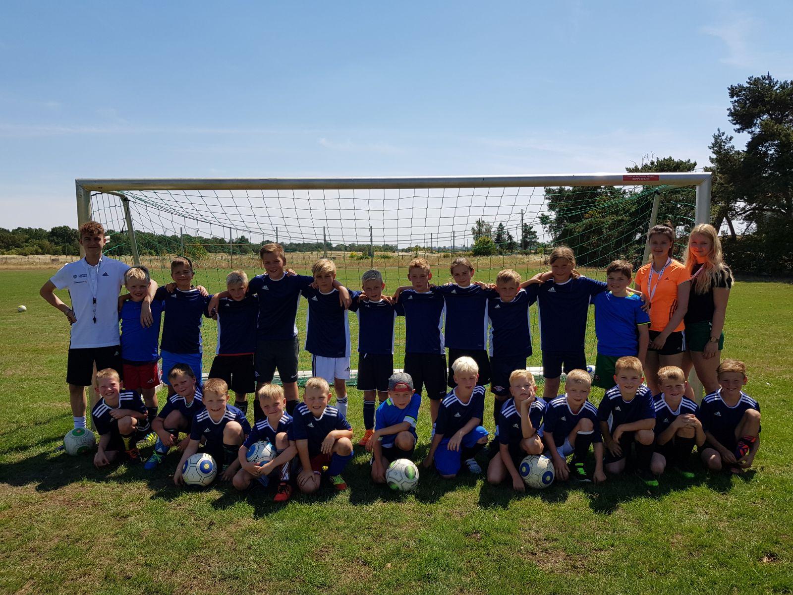 Fußball-Sommercamp 2018